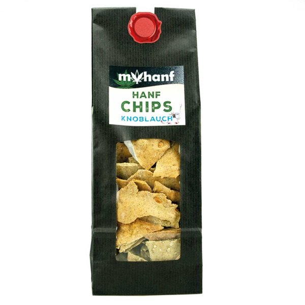 Hanf Chips Knoblauch